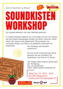 Soundkistenworkshop in Siedlungszentrum @ Siedlungszentrum Denggenhof